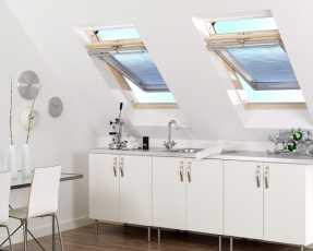 pleated skylight blinds