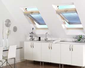 pleated skylight blinds