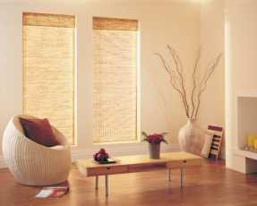 long wooden blinds